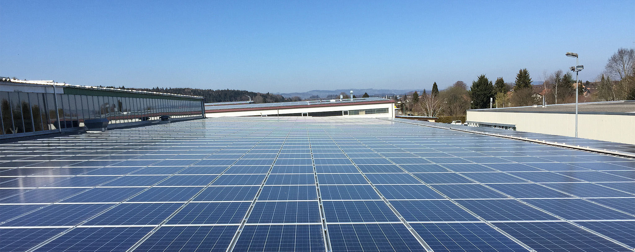 Wir sind Ansprechpartner für alle Solaranlagen